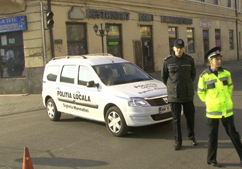 SIGHET: Circulaţie restricţionată pe centrul oraşului pentru realizarea lucrărilor de marcare a drumului