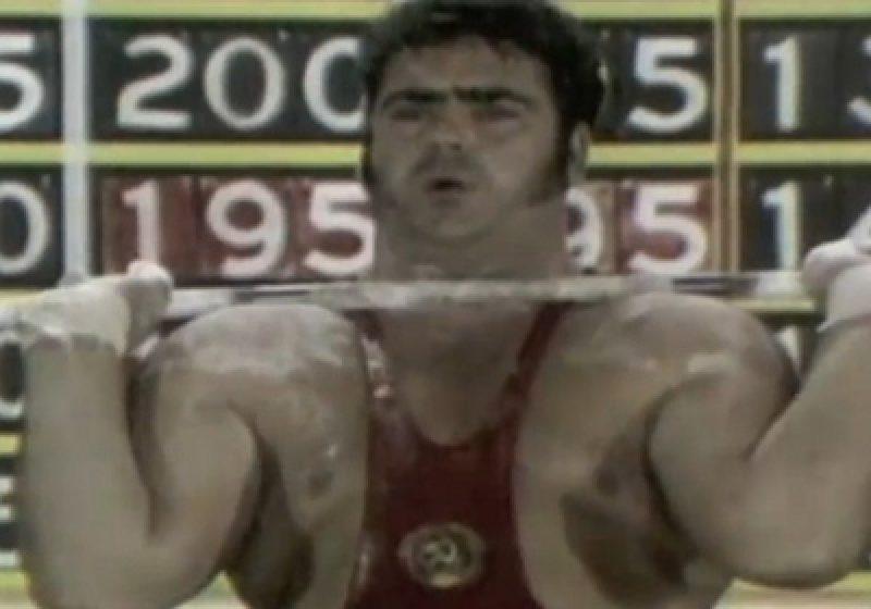 Legendarul halterofil Alexeiev a decedat
