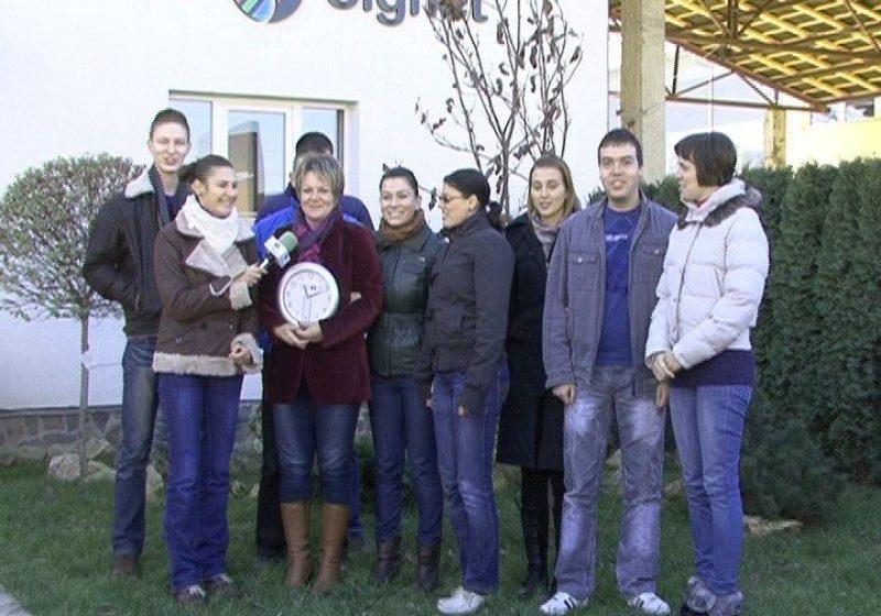 """SIGHET: """"Sfârşitul lumii"""" transmis în direct la TV Sighet"""