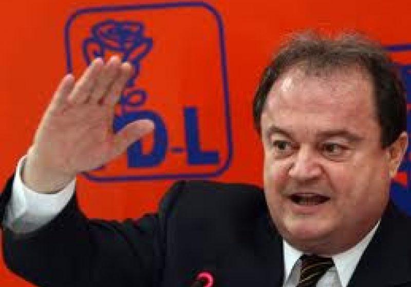 Vasile Blaga, ales preşedinte al Senatului