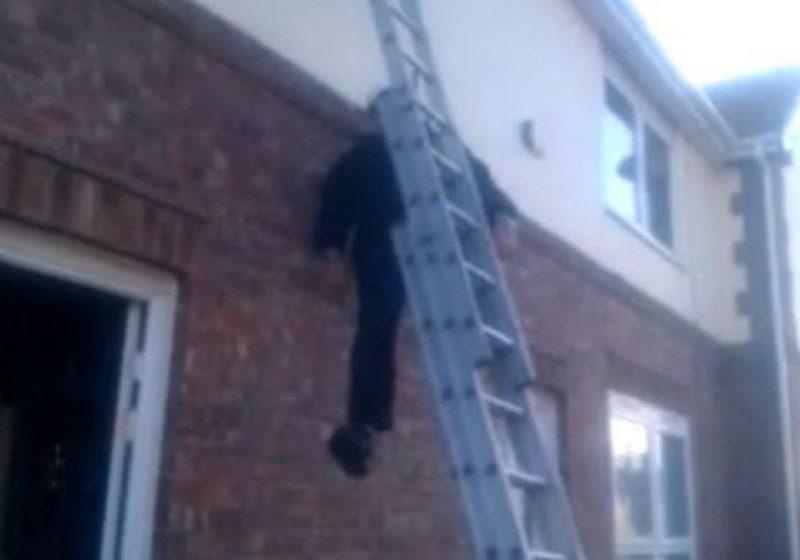 O căzătură de la 5 metri de pe o scară neasigurată i-a provocat decesul unui borşean de 35 de ani