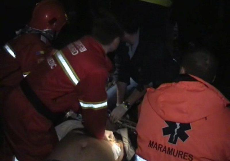 Cărbunari – ACTUALIZARE ACCIDENT MORTAL – 2 morţi şi 2 răniţi. Şoferul vinovat de producerea tragediei a decedat la faţa locului iar una dintre victime a murit azi-noapte, la spital