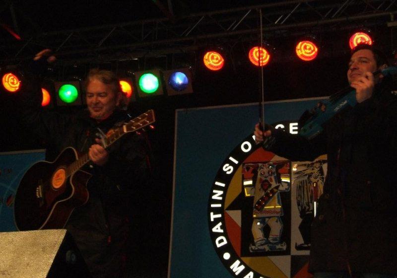 Sighet: Atmosferă incendiară pe scena Festivalului Marmatia 2011: Akcent şi Ducu Bertzi, momentele de vârf ale serii