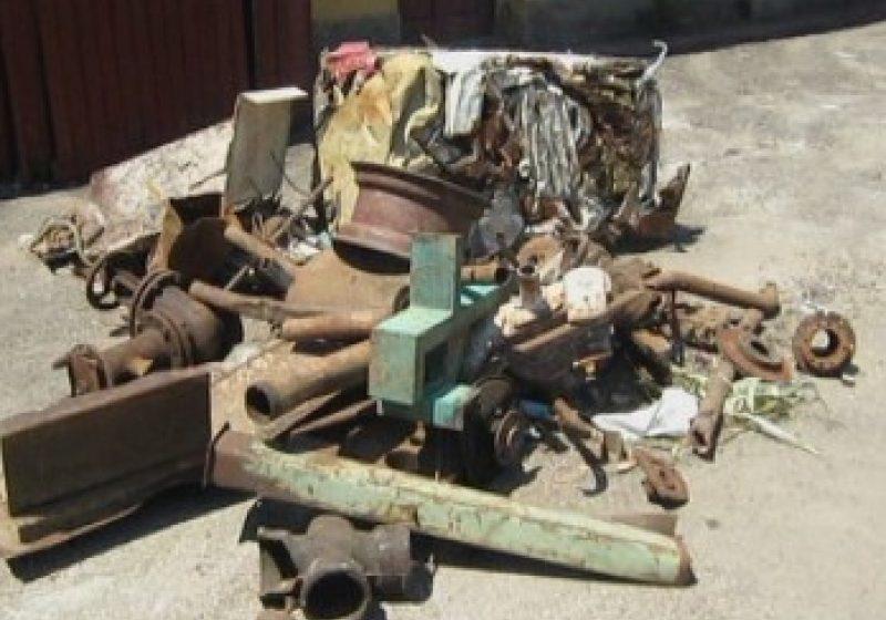 Maramures: Amenzi de 300 de lei pentru furt de fier vechi si scandaluri