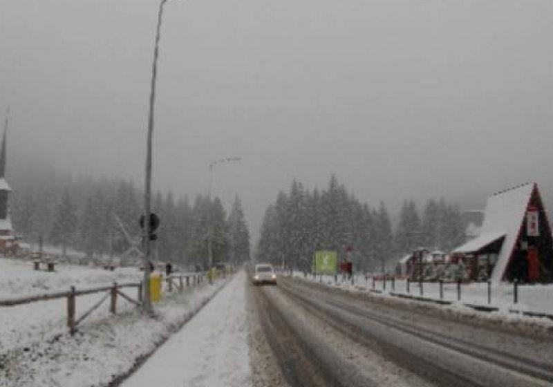Ger şi ninsori în Maramureş