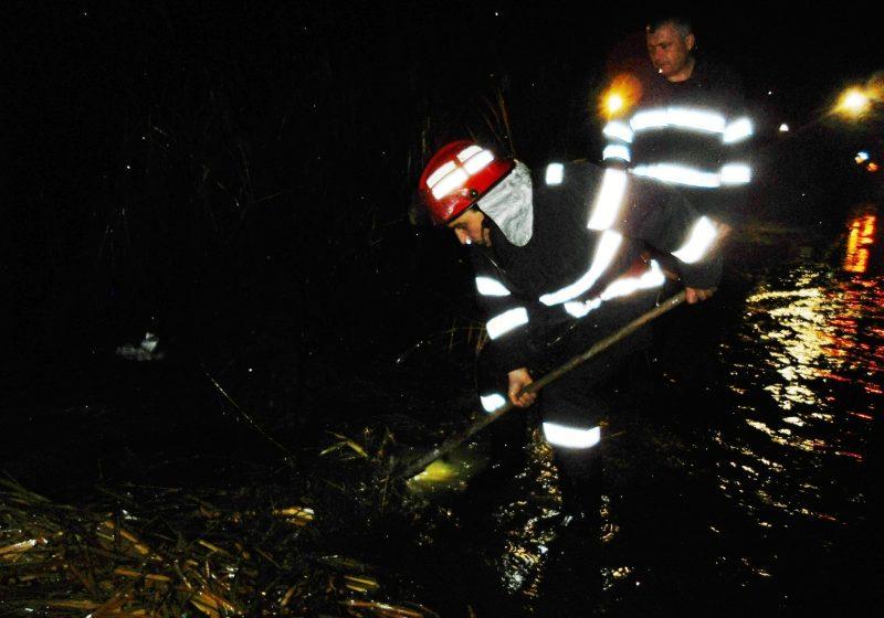 Baia Mare: După secetă, inundaţii. Strada Postfunduş a fost inundată în această seară pe o lungime de 70 metri