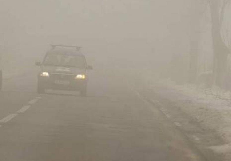 Maramureş: Polei pe mai multe sectoare de drumuri judeţene! Vremea se va răci în următoarele zile