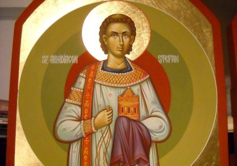 Peste 400.000 de români poartă numele Sfântului Arhidiacon Ştefan
