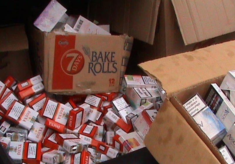7000 de pachete de ţigări de contrabandă depistate de către poliţiştii maramureşeni