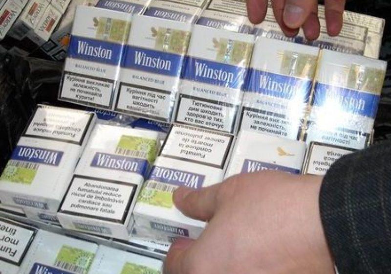 Prinşi în prag de sărbători cu ţigări de contrabandă