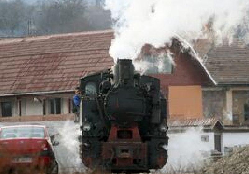 Maramureş: Trenul cu aburi 'Mocăniţa', atracţia turistică a Văii Vaserului