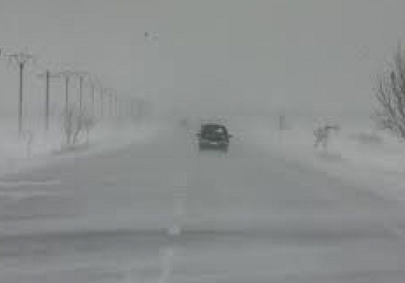 Cavnic: Atentie, soferi! Vizibilitate redusa din cauza ninsorii!