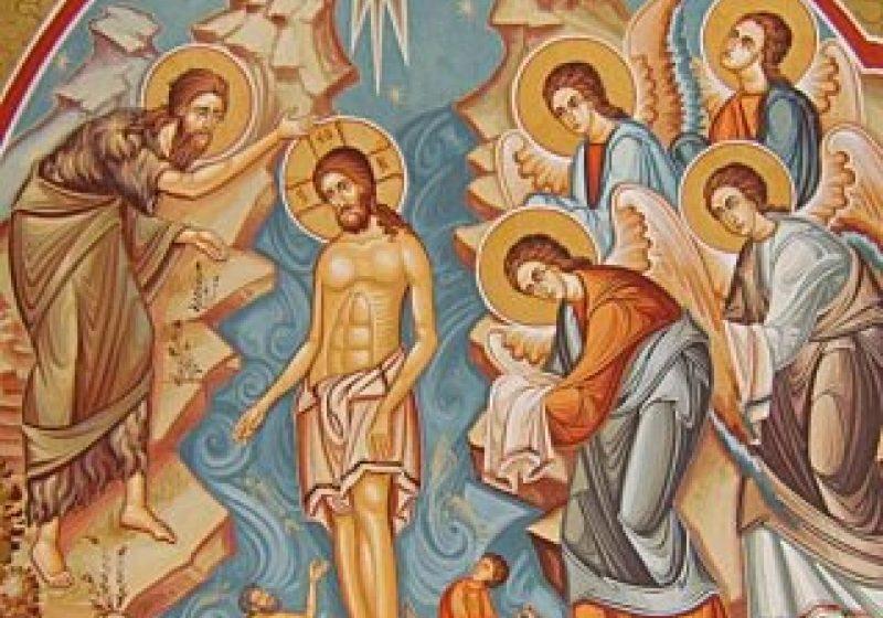 Ajunul Botezului Domnului în Biserica Ortodoxă