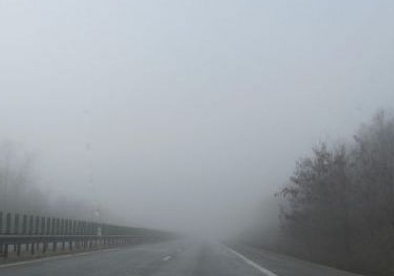 Vizibilitate redusă de ceaţă în Pasurile Gutâi şi Prislop!