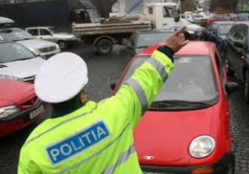 Şase infracţiuni la regimul circulaţiei în perioada 30.12-03.01