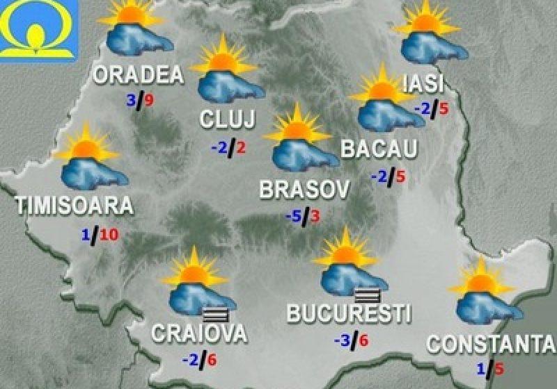 Cum va fi vremea în primele zile ale anului