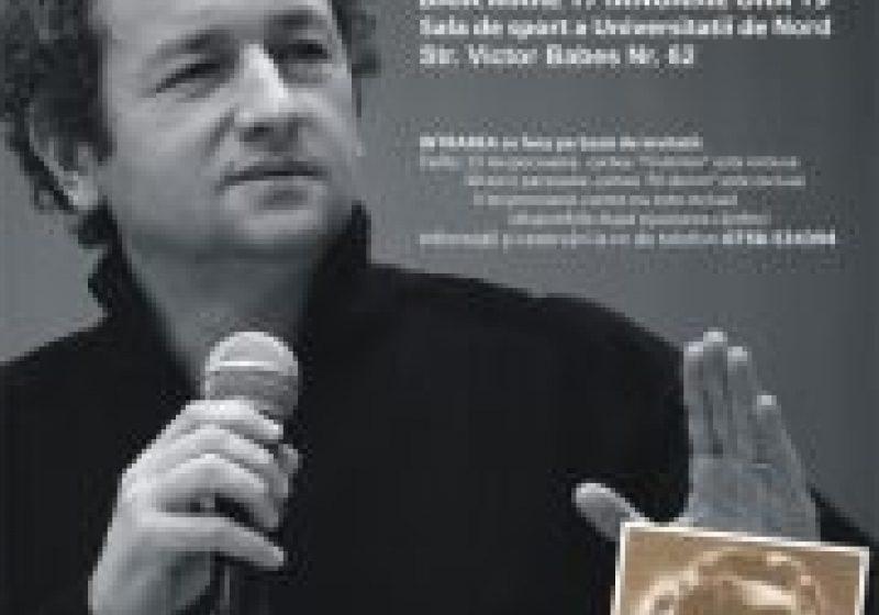 SIGHET: Dan Puric le-a vorbit sighetenilor despre moralitate, demnitatea martirică a poporului român,efortul comun şi simţul datoriei