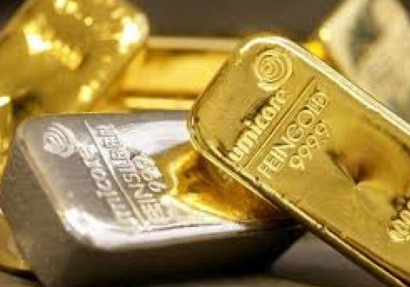 Preţul aurului scade cu 1%, tras în jos de euro