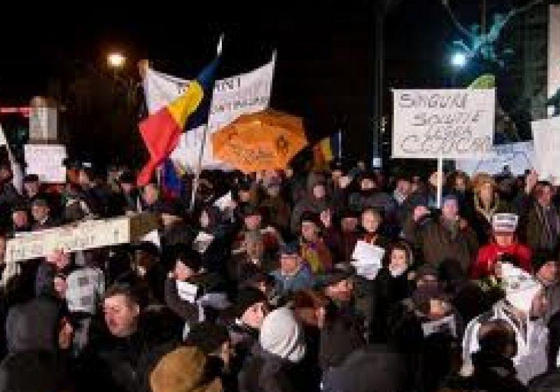 Sighetenii solidari cu protestele din Bucureşti