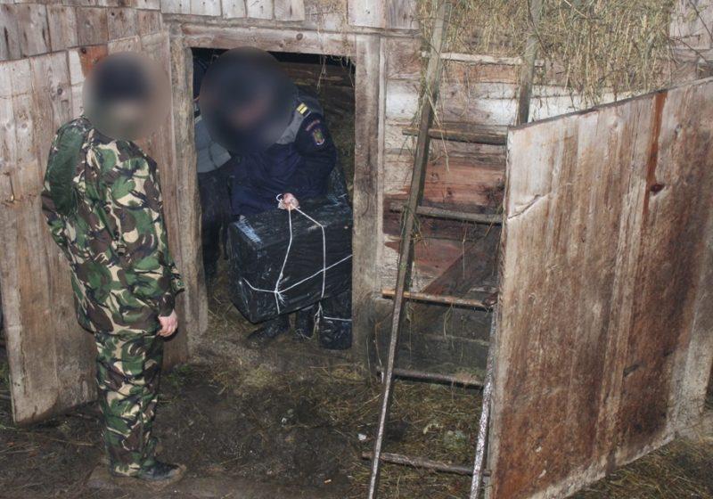 Bistra: Tigari de contrabanda ascunse in sopron