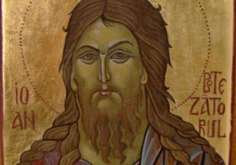 Credinciosi ortodocsi si catolici il vor praznui maine pe Sfantul Ioan Botezatorul, profetul care a descoperit ca Iisus este Mesia trimis de Dumnezeu