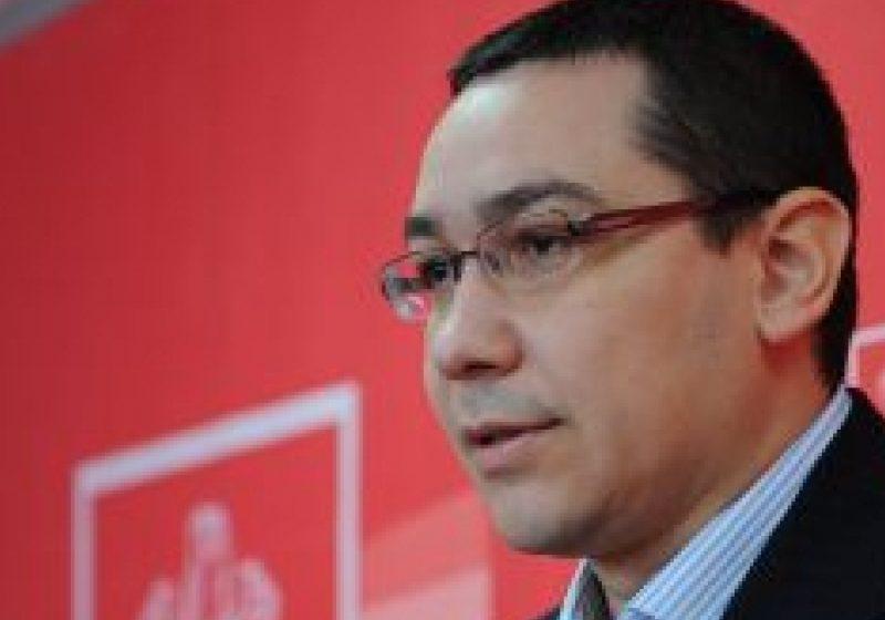 """Victor Ponta: """"Boc minte despre fondurile europene. Nu in acest mod putem face un dialog cu Puterea"""""""