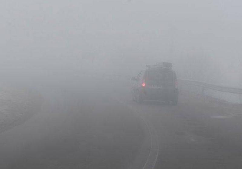 Maramureş: Vizibilitate redusă de ceaţă în Pasul Prislop şi în zona limitrofă municipiului Baia Mare!