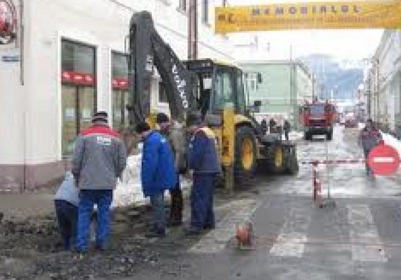 In cursul noptii conducta de gaz de pe strada Corneliu Coposu  a fost schimbata