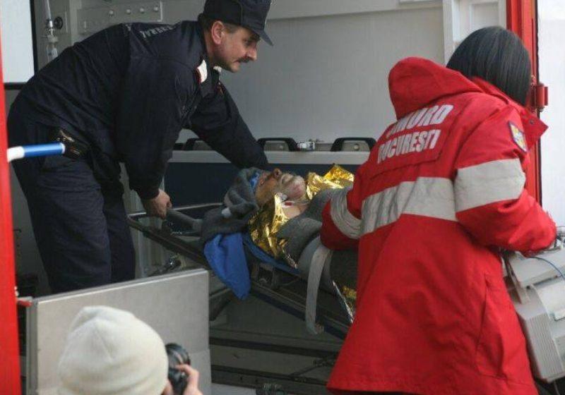 Rude ale răniţilor în exploziile din Sighet au ajuns la Spitalul de Arşi din Bucureşti