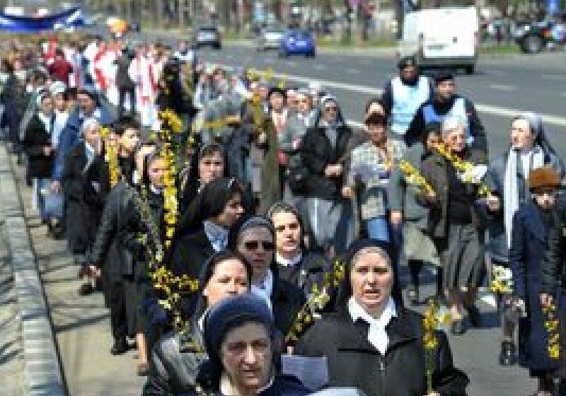 Duminica Floriilor, celebrată de catolici