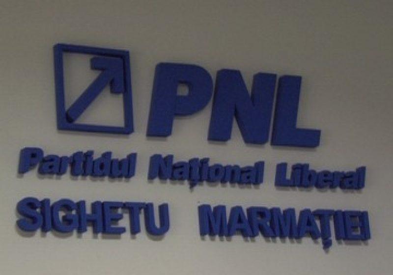 Comunicat de presă – Organizația PNL Sighetu Marmației