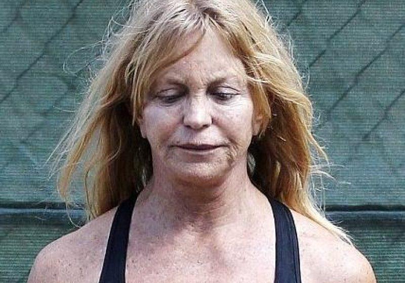 GOLDIE HAWN, de NERECUNOSCUT. Cum arată actriţa fără machiaj, la 67 de ani