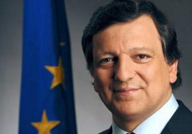 Jose Manuel Barroso, în România: Preşedintele Comisiei Europene a ajuns la Guvern pentru a discuta cu Ponta, înainte de Congresul PPE