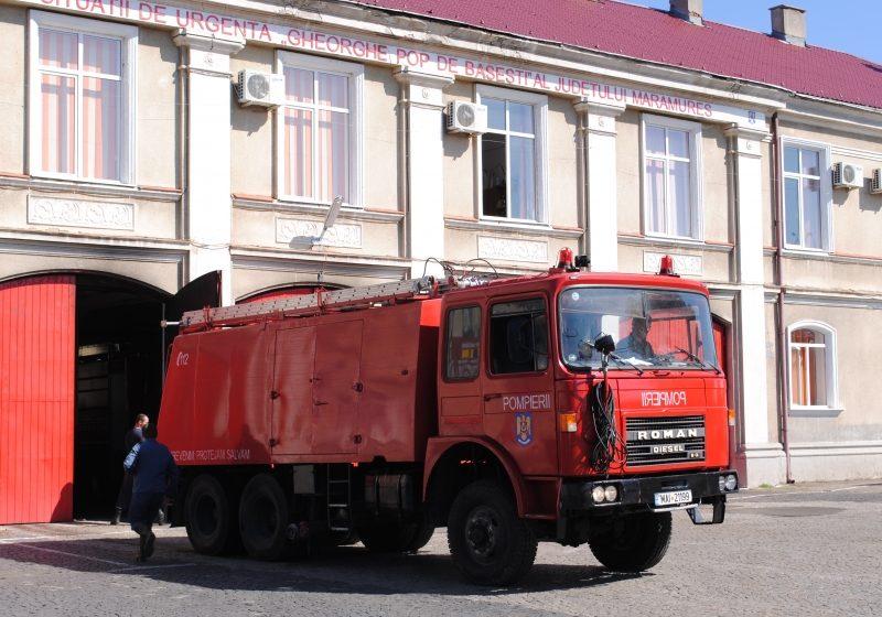 MM: 4.364.000 L de apă transportaţi de pompieri în 9 luni