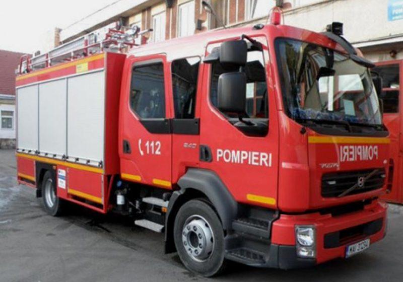 Sighet: Incendiu la un apartament din cartierul Unirii