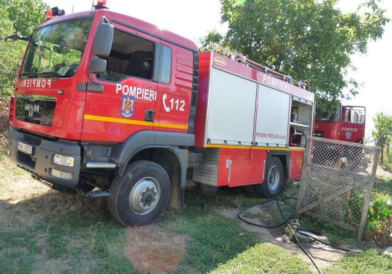 Baia Sprie: INCENDIU – Persoană arsă într-un incendiu izbucnit în cartierul Microraion Vest