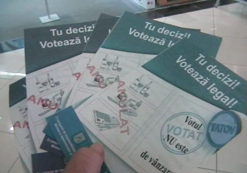"""Baia Mare: TU DECIZI! VOTEAZĂ LEGAL! – Băimărenii au fost informaţi că """"votul NU este de vânzare""""!"""
