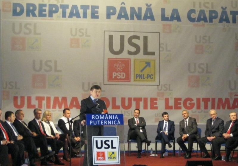 Baia Mare: Crin Antonescu, Victor Ponta şi Daniel Constantin au fost prezenţi la lansarea candidaţilor U.S.L. Maramureș