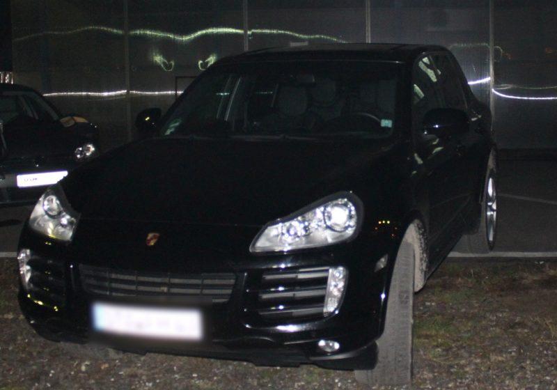 SIGHET: Porche, în valoare de 65.000 de euro, declarat furat, descoperit la frontieră