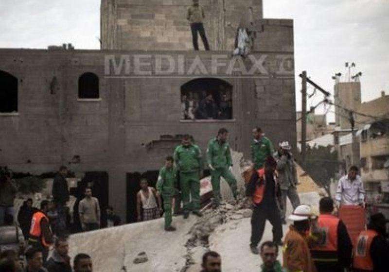 Analiză AFP: Israelul şi Fâşia Gaza au nevoie de un mediator credibil pentru încheierea unui armistiţiu