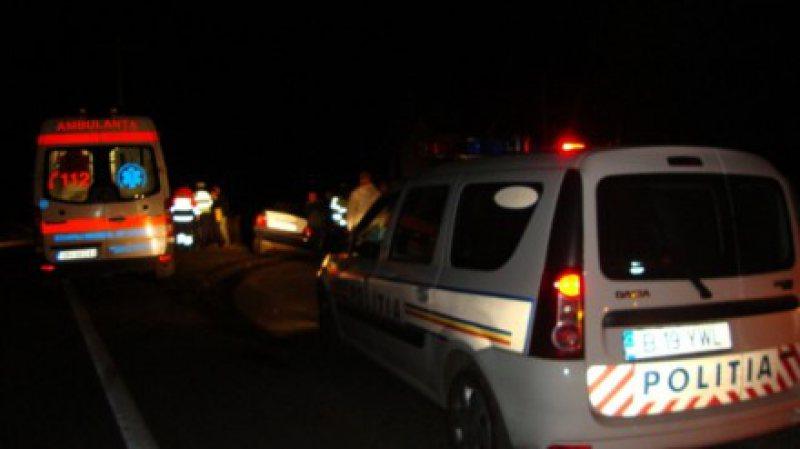 112: Patru tineri, dintre care un maramureșean, și-au găsit sfârșitul într-un cumplit accident de mașină pe raza județului Bistrița Năsăud