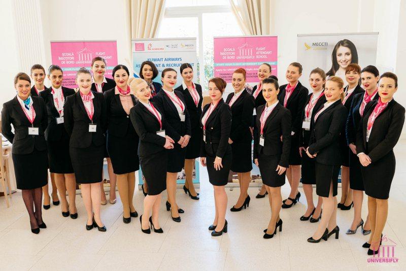 FORȚĂ DE MUNCĂ: Al doilea proiect de selecție și angajare de stewardese din România  la compania de aviație KUWAIT AIRWAYS