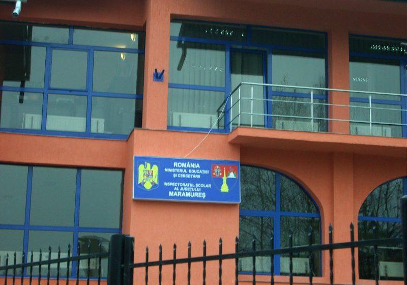 FUNCȚII VACANTE: ISJ Maramureș scoate la concurs opt posturi de inspectori școlari