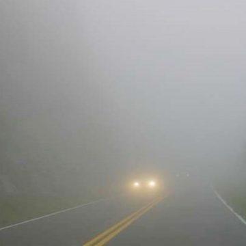 Cod galben de ceață în Maramureș