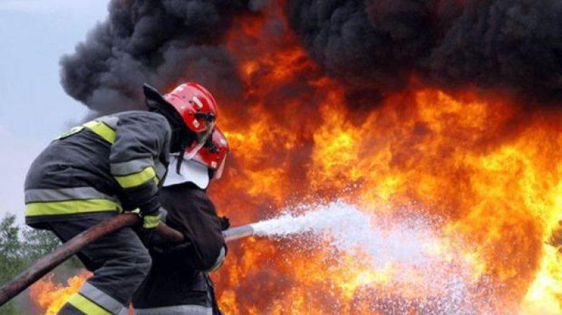 Patru incendii în patru zile