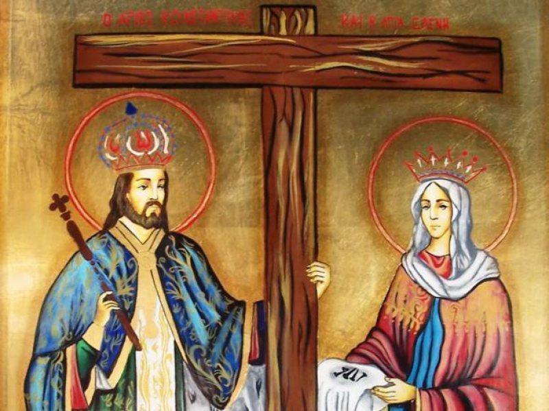 21 MAI: Astăzi sunt sărbătoriți sfinţii Constantin şi Elena. Peste 1,7 de milioane de români ...
