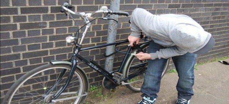 Bănuit de furturi de biciclete a fost reținut