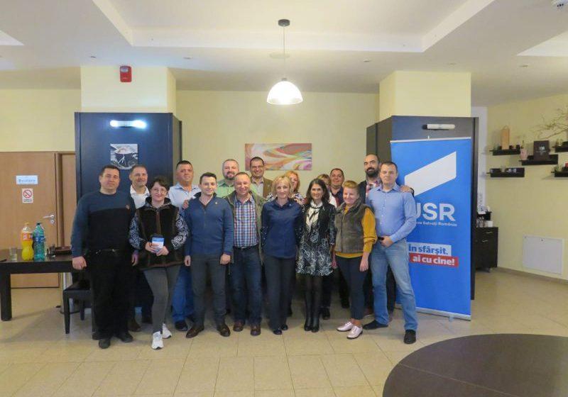 CAMPANIE DE EXTINDERE: USR Maramureș a înființat două noi filiale, la Ocna Șugatag și la Dumbrăvița