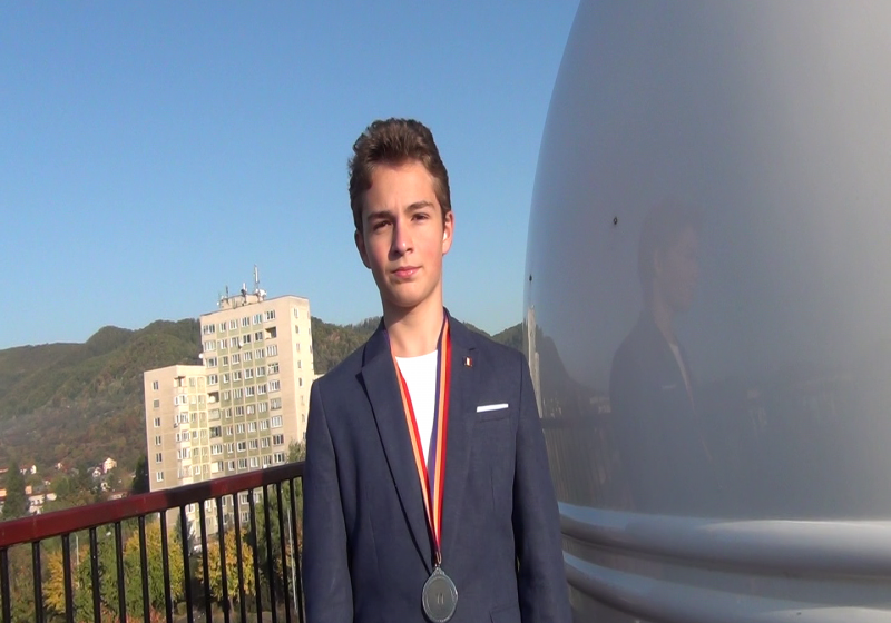 SPECIAL: Argint la Olimpiada Internațională de Astronomie pentru un băimărean