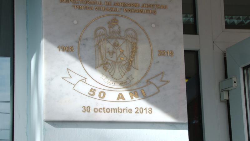 REPORTAJUL ZILEI: 50 de ani de la înființarea Jandarmeriei Maramureș